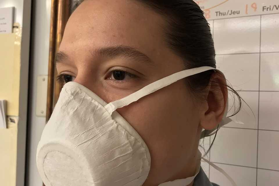 Researchers create biodegradable medical masks for COVID-19